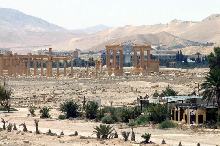 Ókori romok Palmürában