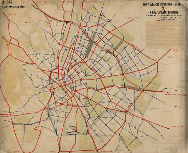 Nagy-Budapest városrendezési tervpályázata, 1945.