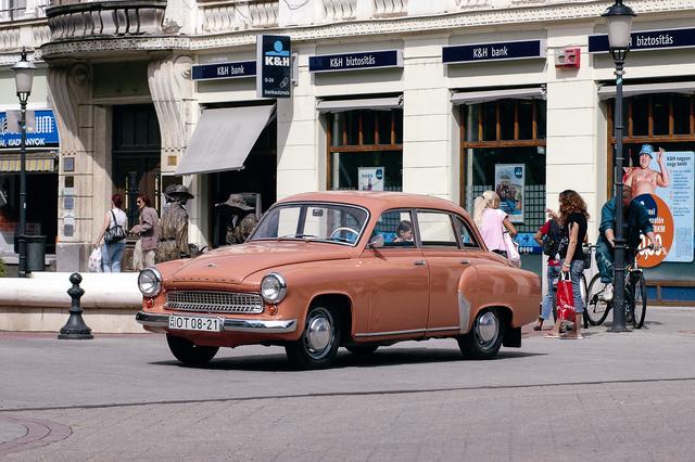 Talán a legszebb szocialista autó volt
