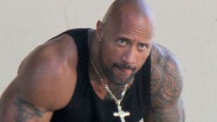 Dwayne The Rock Johnson anyakönyvvezetőnek állt