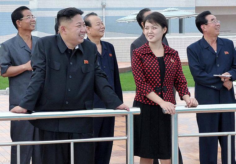 Az észak-koreai Kim Dzsongun felesége bizonyos Ri Szoldzsu