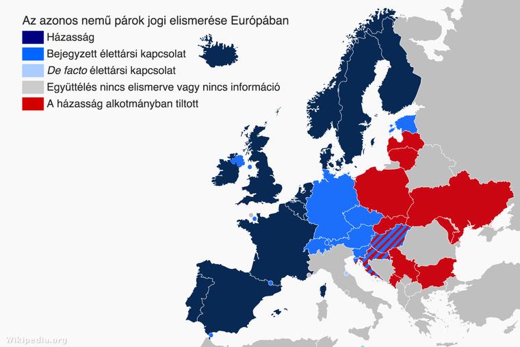 Melegházasságok Európában az ír népszavazás után