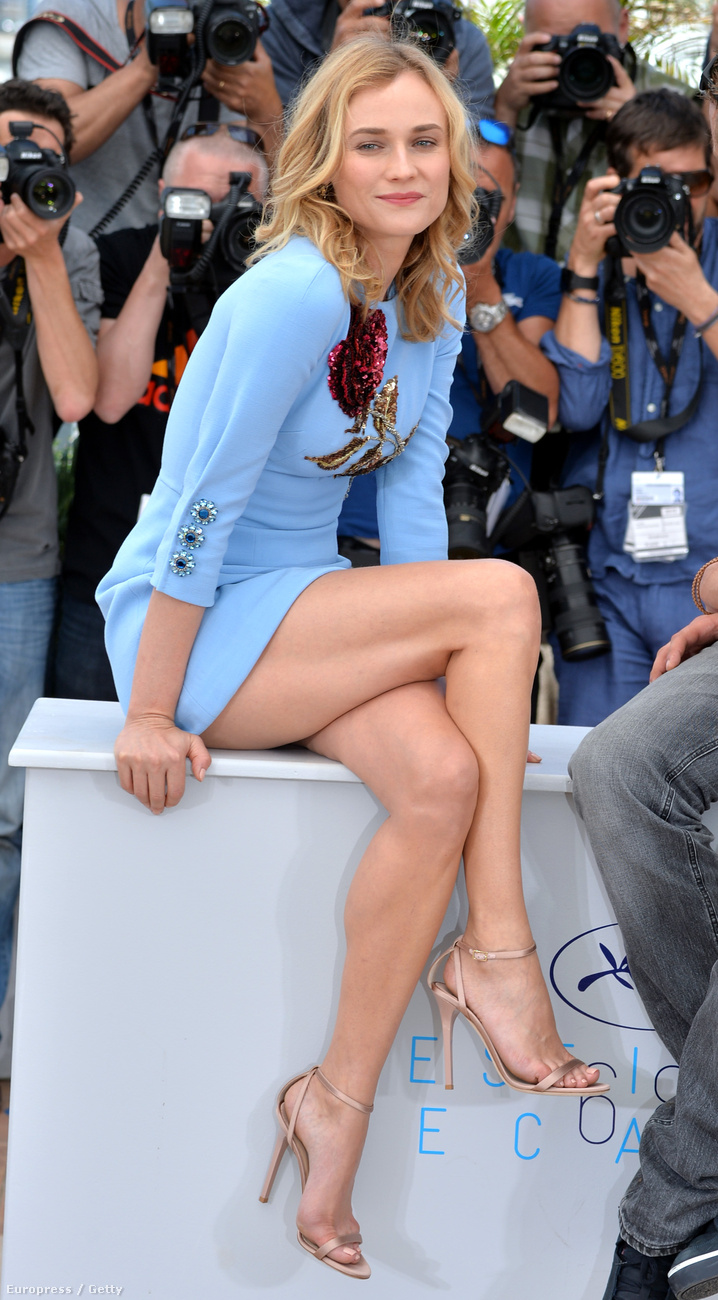 Diane Kruger lábvillantása volt a legmenőbb az összes közül