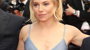 Sienna Miller utoljára még odatette magát Cannes-ban