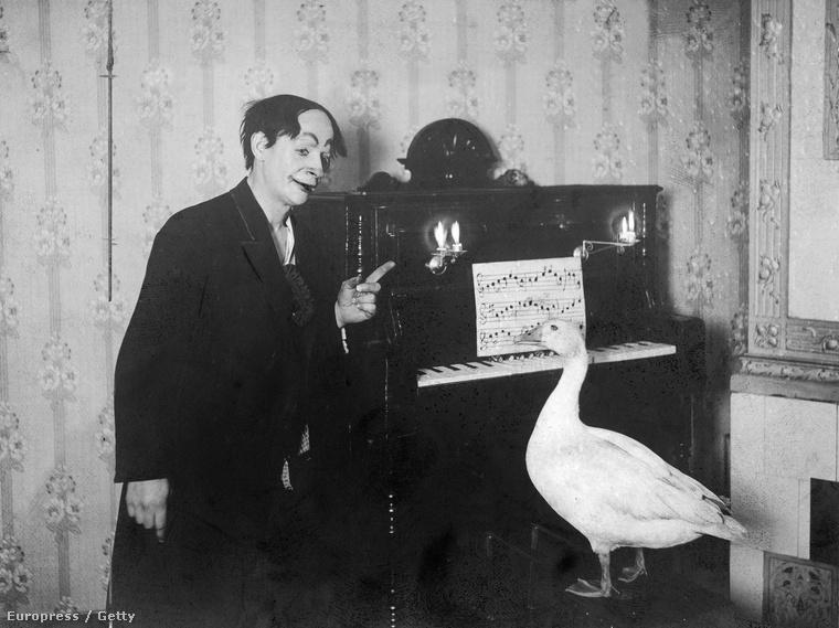 És egy állatos szám talán 1910-ből, valószínűleg Berlinből.