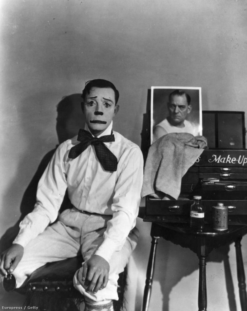 (Buster Keaton, 1927) Persze azt se lehet kizárni, hogy valakit velük kapcsolatos trauma ért gyerekkorában.