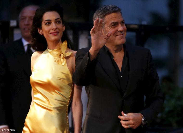 Bezzeg Clooney-ékon minden rendben van