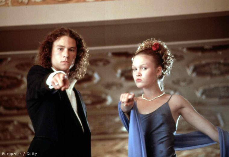 aki 1999-ben, Heath Ledger mellett tört be a köztudatba, a 10 dolog, amit utálok benned című filmmel.