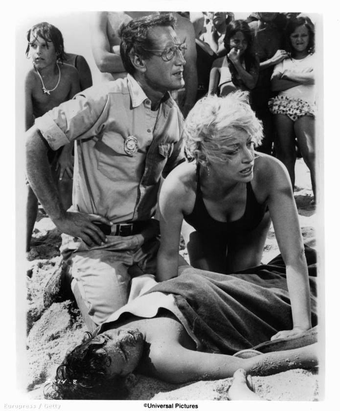 Roy Scheider és Lorraine Gary