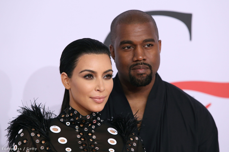 hogy Kardashian és férje, Kanye West zenész-producer milyen helyesek voltak.