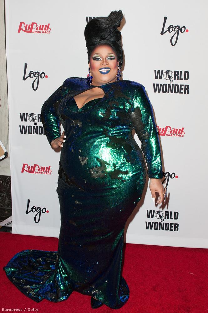 Jaidynn Dior Fierce bebizonyította, hogy nem kötelező nádszálvékonynak lenni ahhoz, hogy az ember egy ilyen műsorban szerepeljen