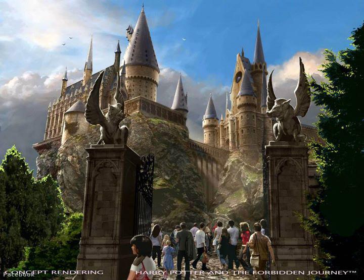 A tervek már el is készültek, a Universal Studios osztotta meg őket a Facebookon.