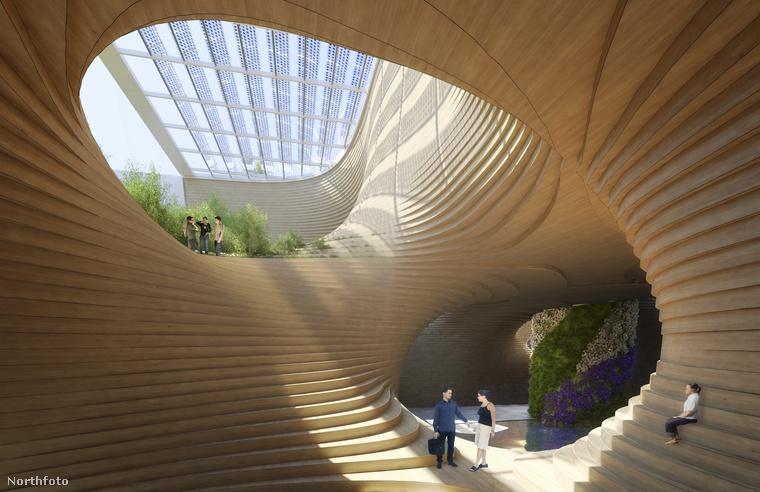 Callebaut egy olyan építész, aki kifejezetten próbál környezettudatos lenni, sőt aktívan készül arra, hogy mi lesz, ha az emberiség felemésztette a Föld erőforrásait.