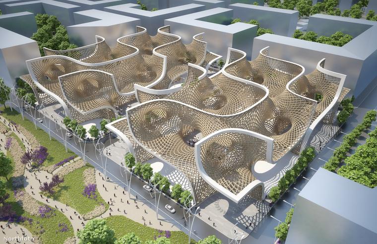 Callebaut ötlete az volt, hogy egy olyan plázát hoz létre, ami a simán bevásárlókozpontok, az erdők, mezők és művelődési központok funkcióit egyesíti.