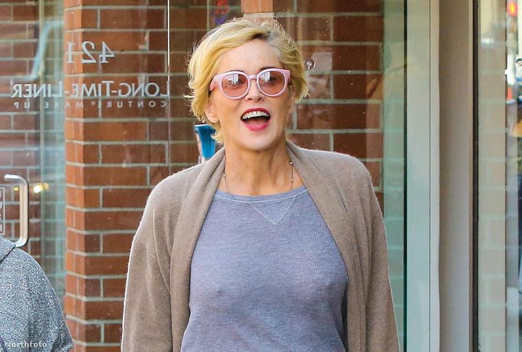 """""""Egy kinyúlt ruhás könyvmoly vagyok"""" - nyilatkozta a közelmúltban Sharon Stone,"""