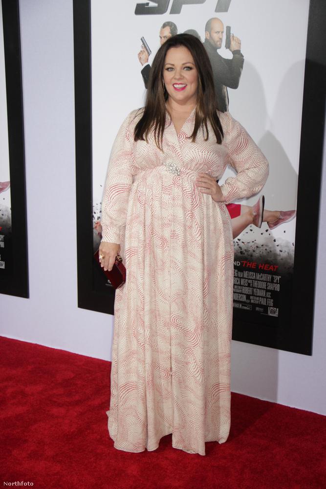 Melissa McCarthy pedig azt mutatta meg, hogy milyen jól néz ki, és nem is véletlenül, mert később az is kiderült, hogy fogyott, és nem is akárhogy.