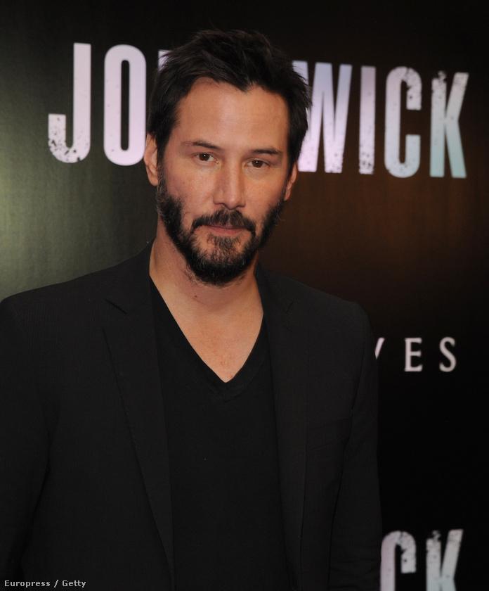 Keanu Reeves 2015-ben, aki
