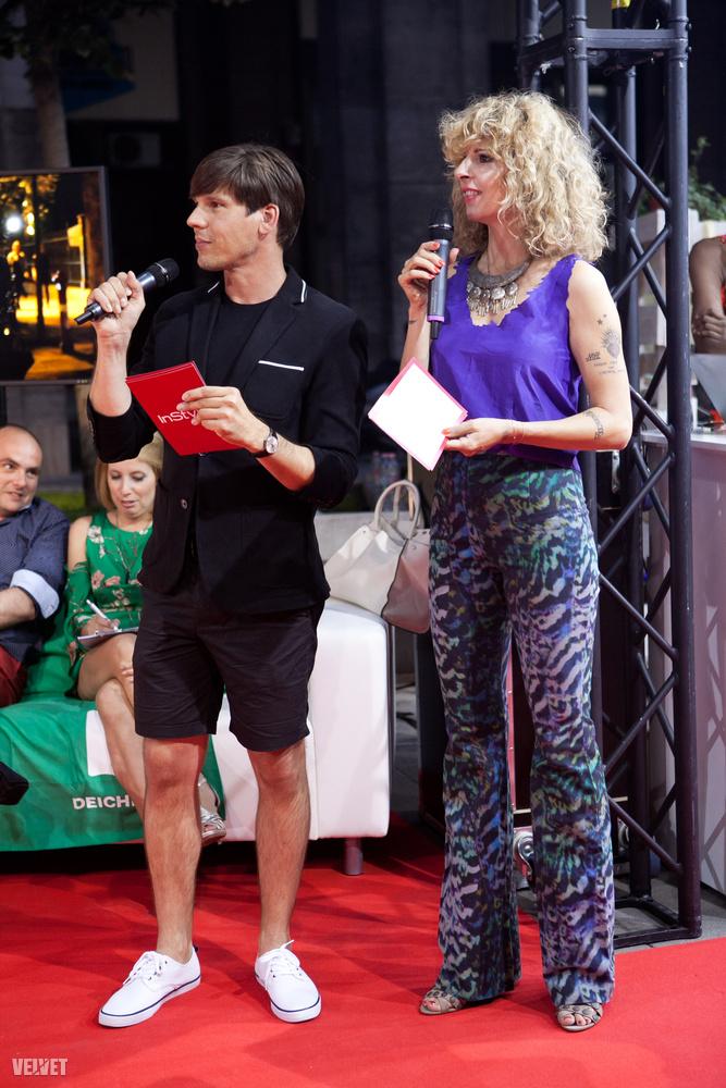 Az InStyle Magyarországot a képen látható Szűcs Péter képviselte a zsűriben, ő volt az egyik műsorvezető is
