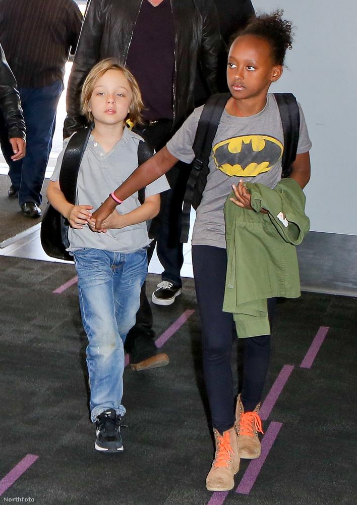 Knox és Zahara.