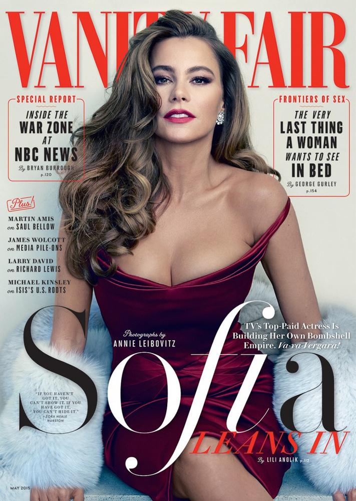 Így szerepelt a Vanity Fair májusi címlapján, a magazin többi képét itt nézheti meg.