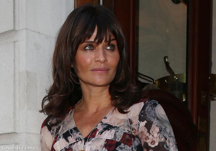 A 46 éves egykori topmodell új parfümjének bemutatóján jelent meg Londonban egy kicsit gyűrötten.