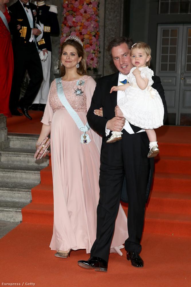 Persze ott volt Madeleine hercegnő is