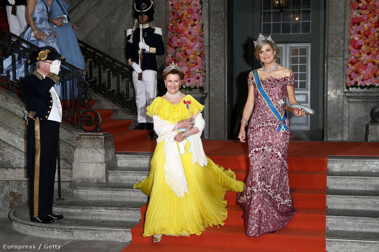 A holland Maxima hercegnőt