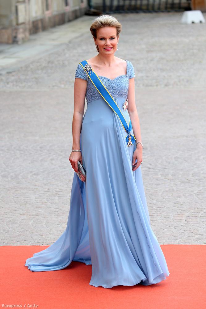 A belga Matild királynőt