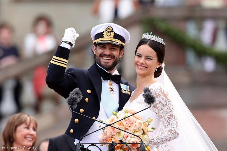 A svédeknek pedig az volt, mikor Károly Fülöp feleségül vett egy tetovált valóságshow-szereplőt