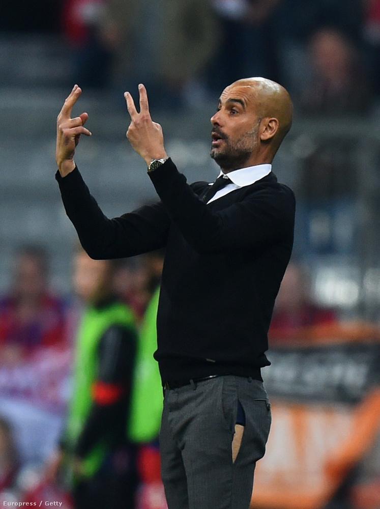 A Bayern München edzője, Pep Guardiola híres elegáns megjelenéséről, de néha ő is tud bukni.