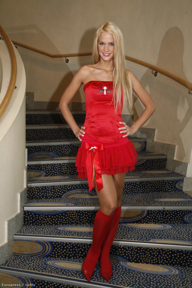 Mint ahogy ez előző kép, elvileg ez is 2006-ban készült egy németországi szépségversenyen, amin Zimány is elindult