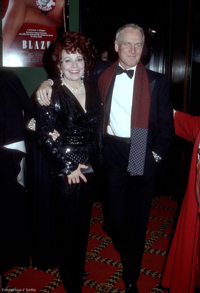 Azért maradt néhány ismert barátja is, például Paul Newman