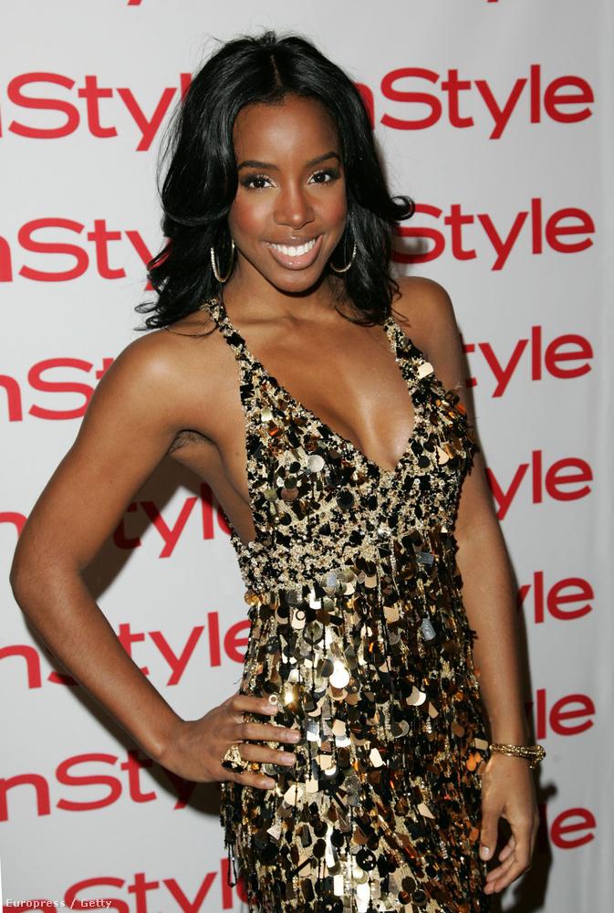 Kelly Rowland direkt vagy nem, de szőrösen ment a vörös szőnyegre