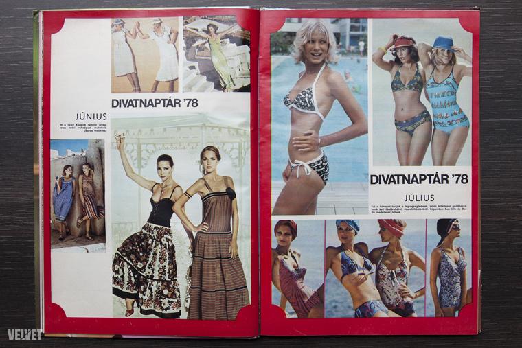 A '78-as fürdődivat: felhívnánk a figyelmet a csúcsos mellrészre, a hálistennek retusálatlan csípőtájéki formákra, és a szőke modellre, aki egy számmal kisebb bikinifelsőt kapott.