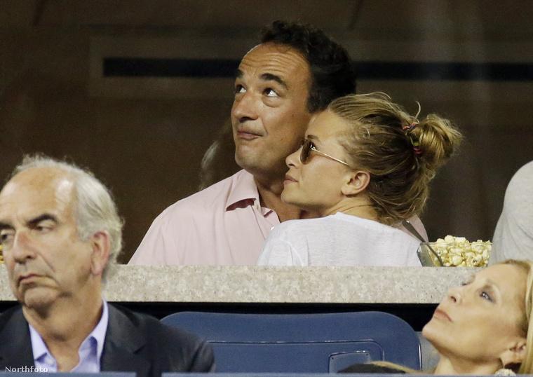 Olivier Sarkozy üzletember és Mary-Kate Olsen – igen, celebpárokról mutatunk képeket egész végig