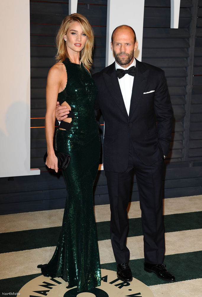Rosie Huntington-Whiteley és Jason Statham