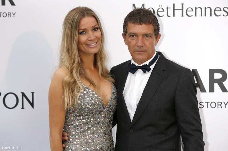 Antonio Banderas elvált Melanie Griffithtől és most ezzel a Nicole Kempellel jár