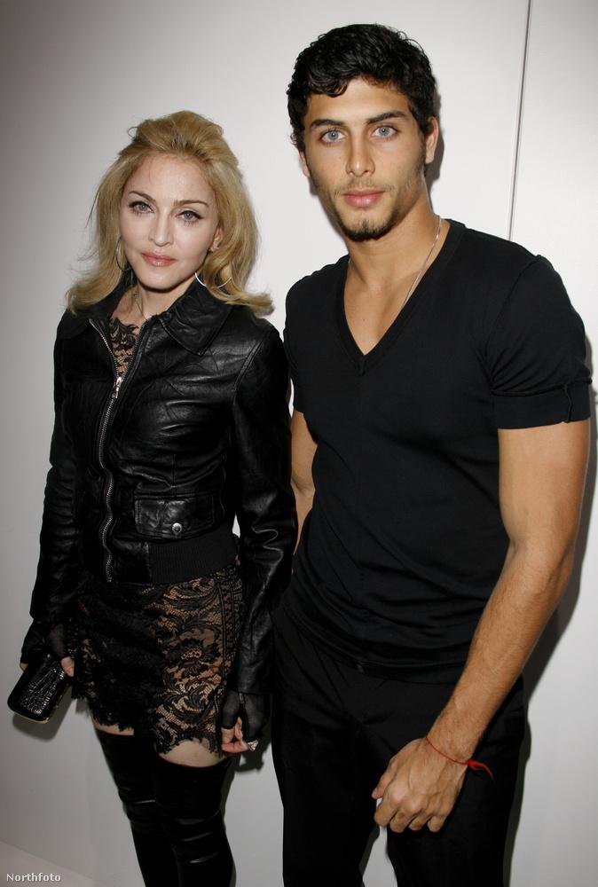 Ők sincsenek már együtt – a képen látható Jesus Luz volt Madonna első hivatalos pasija azután, hogy a szebb napokat látott popkirálynő elvált második férjétől