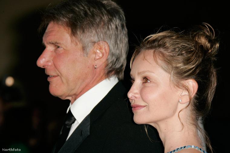 Még egy legendás hollywoodi pár: Harrison Ford és Calista Flockhart
