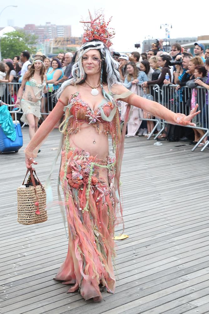A hétvégén rendezték meg a Coney Islanden az idei Mermaid Parade-ot, vagyis a sellőparádét