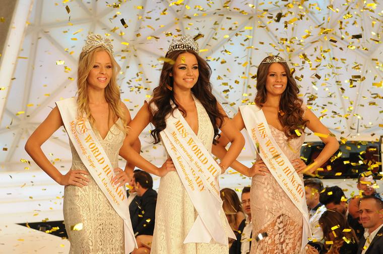 Vasárnap este rendezték meg a Miss World Hungaryt, amit Kiss Daniella nyert meg