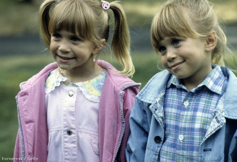Emékeznek még, amikor az Olsenek ilyen picik voltak? Már egészen baba koruktól színészkednek