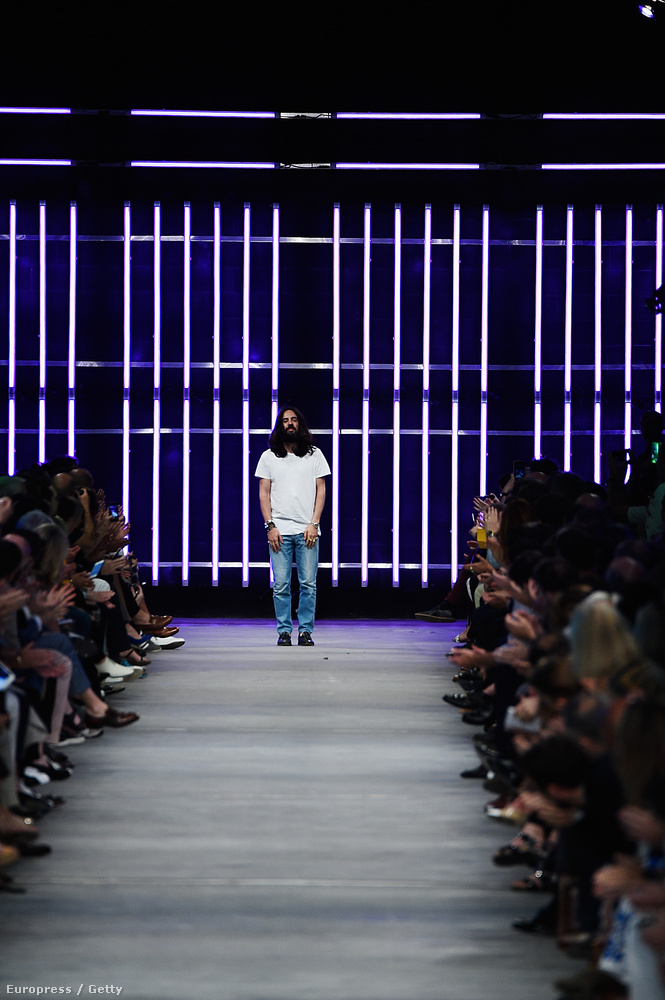 Ő pedig Alessandro Michele, aki ezt az egészet tervezte