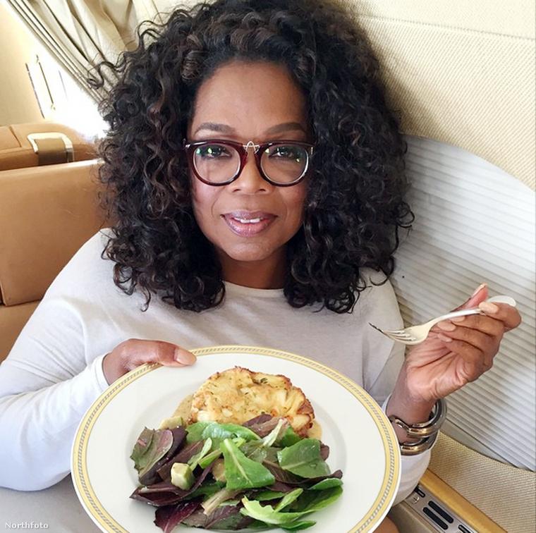 Oprah Winfrey nagyon egészséges ételt választott, ő is a Twitterre posztolta a kajáját.