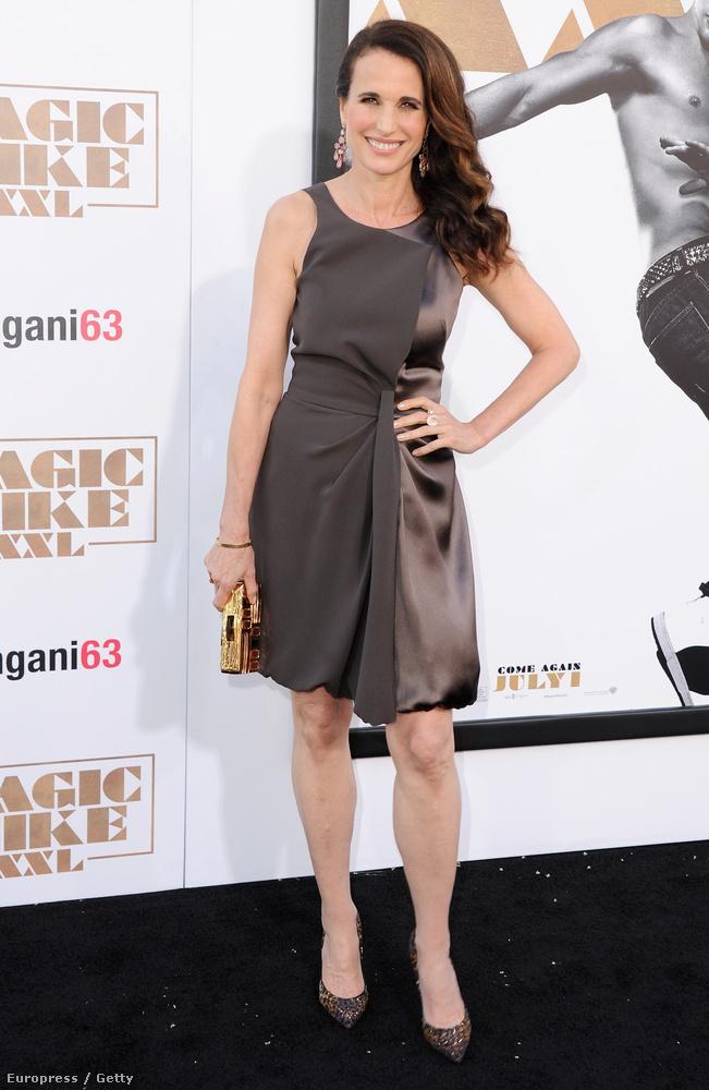 A színésznő a Magic Mike XXL premierjén járt Los Angelesben, ahol már megint megmutatta mindenkinek, hogy 57 évesen is ő az egyik legszebb nő Hollywoodban.