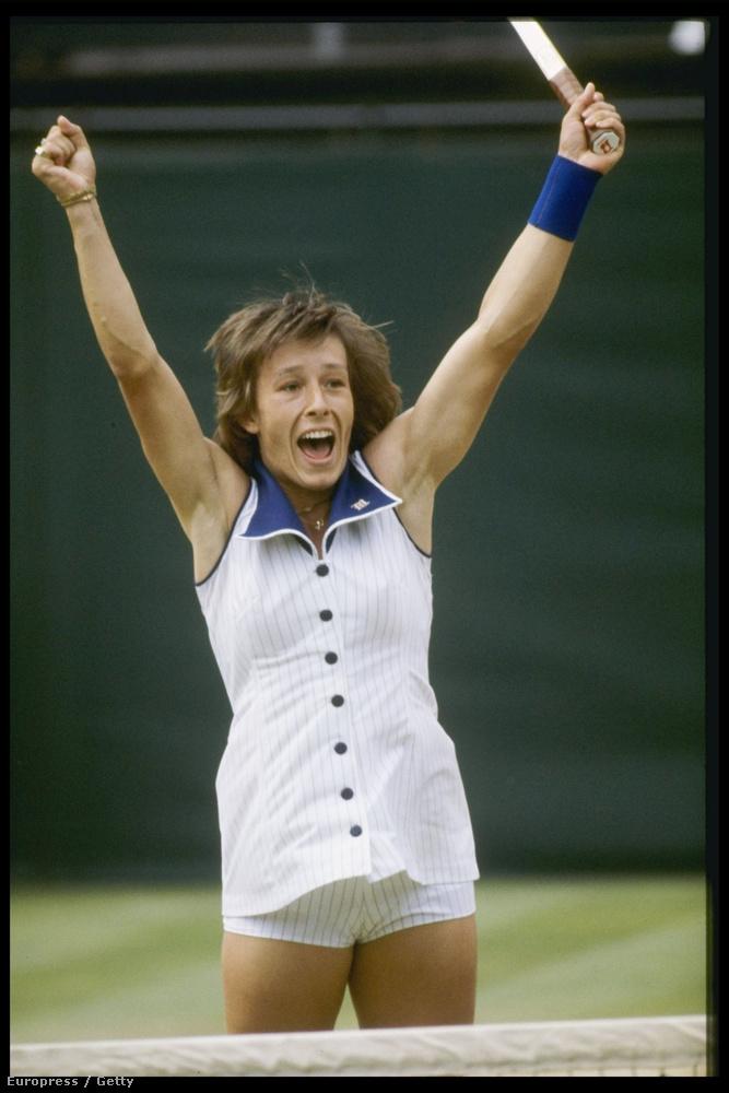 Martina Navratilova 1978-as ruhája például eléggé kilóg a sorból