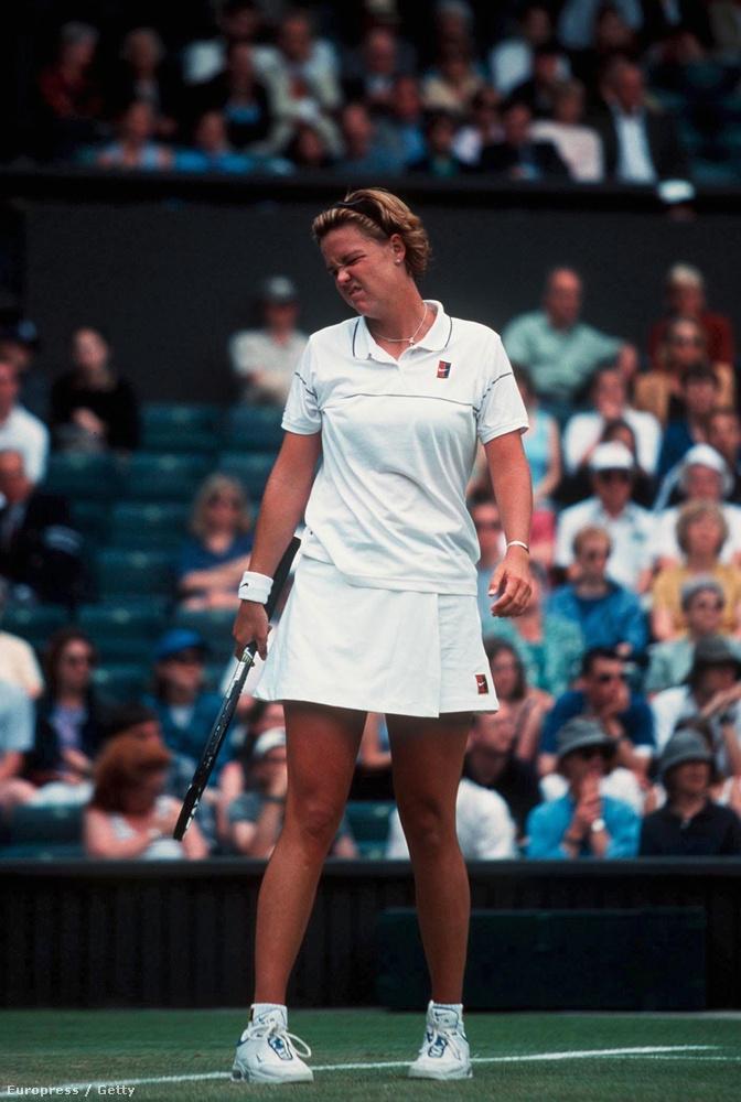 Hozzá képest Lindsay Davenport 1999-es szettje ma a visszafogottság.
