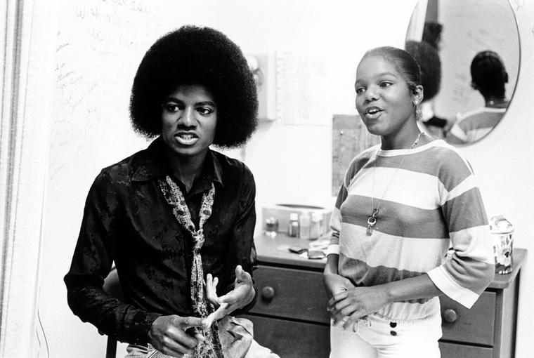 Ebben az évben is készült közös fotójuk Michael Jacksonnal
