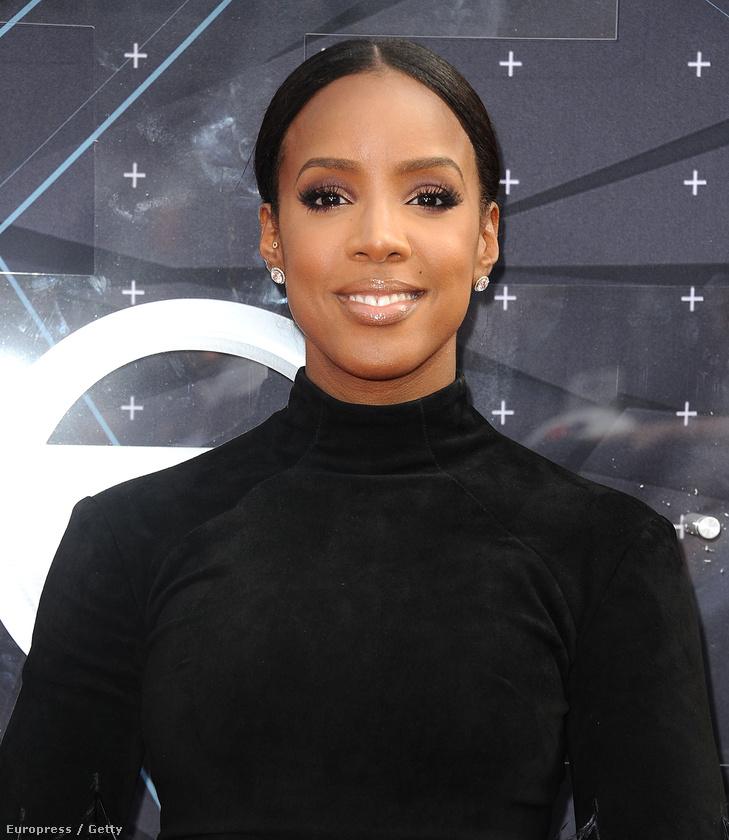 Kelly Rowland viszont kifejezett visszafogott volt, de szép