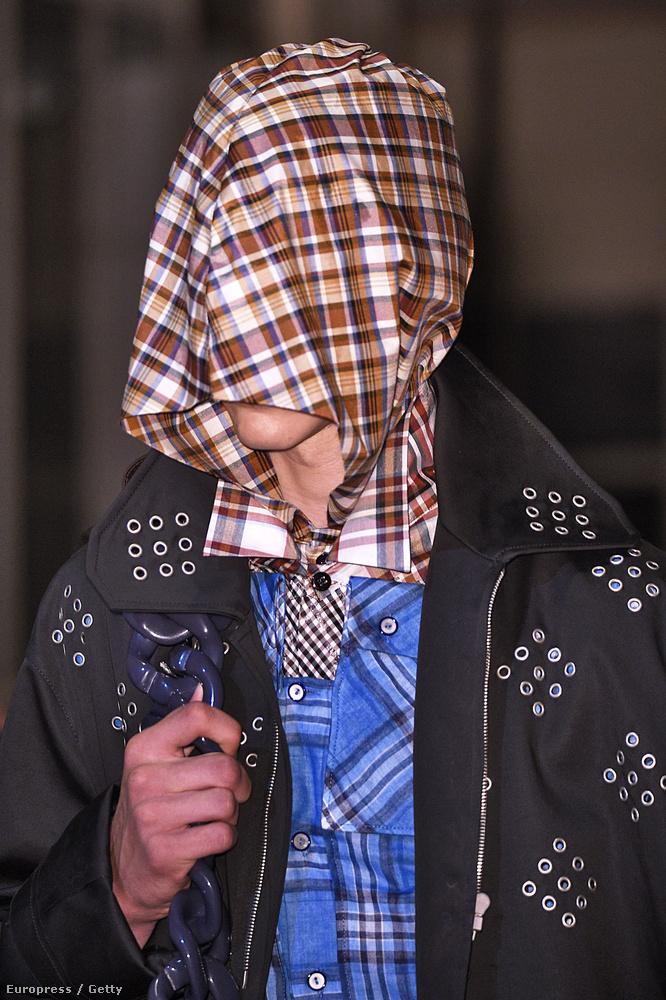 Raf Simons is úgy gondolta, arc nélkül izgalmasabb lesz a 2016-os divat